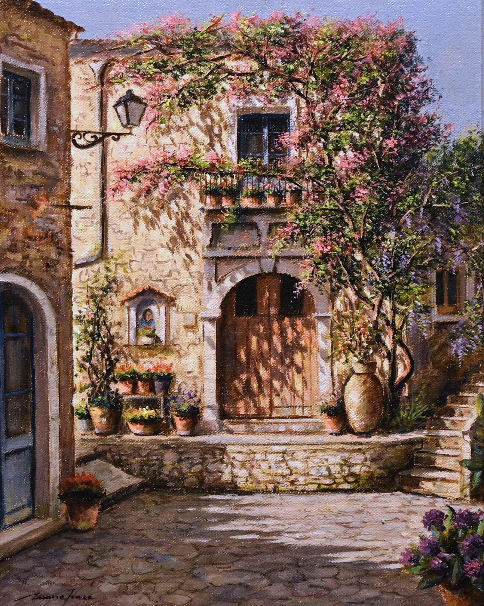 Taormina dipinto moderno